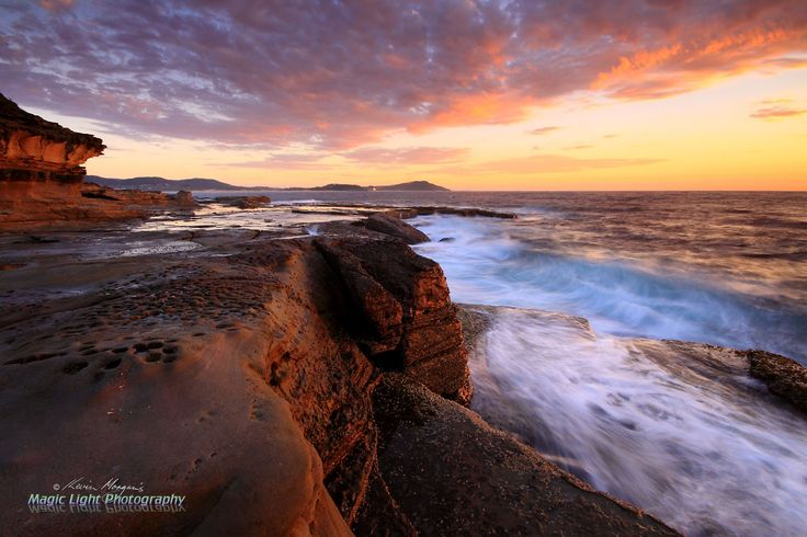 Terrigal Haven Rocks Sunrise March 2014 by Kevin Morgan on 500px