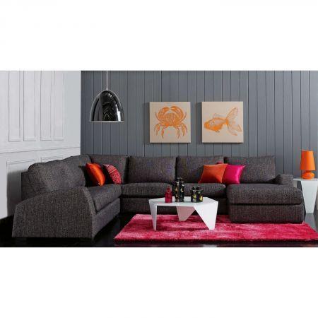 Novelli Fabric Modular Lounge | Domayne