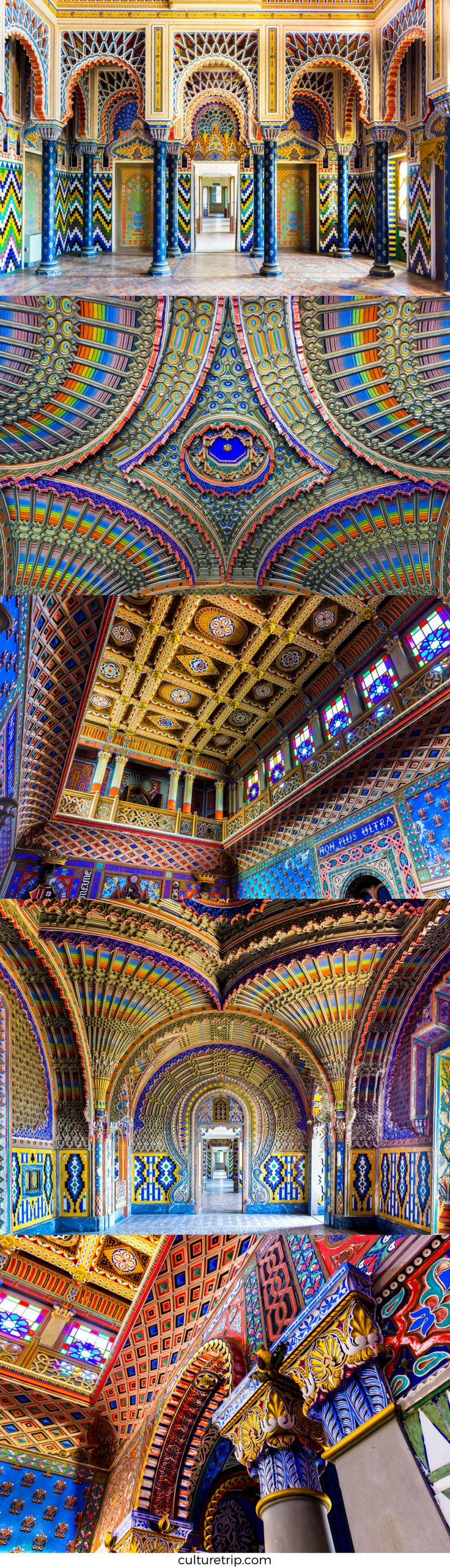 Sammezzano Castle, Italy. Just 40 km away from Florence lies the most beautiful room in the world!
