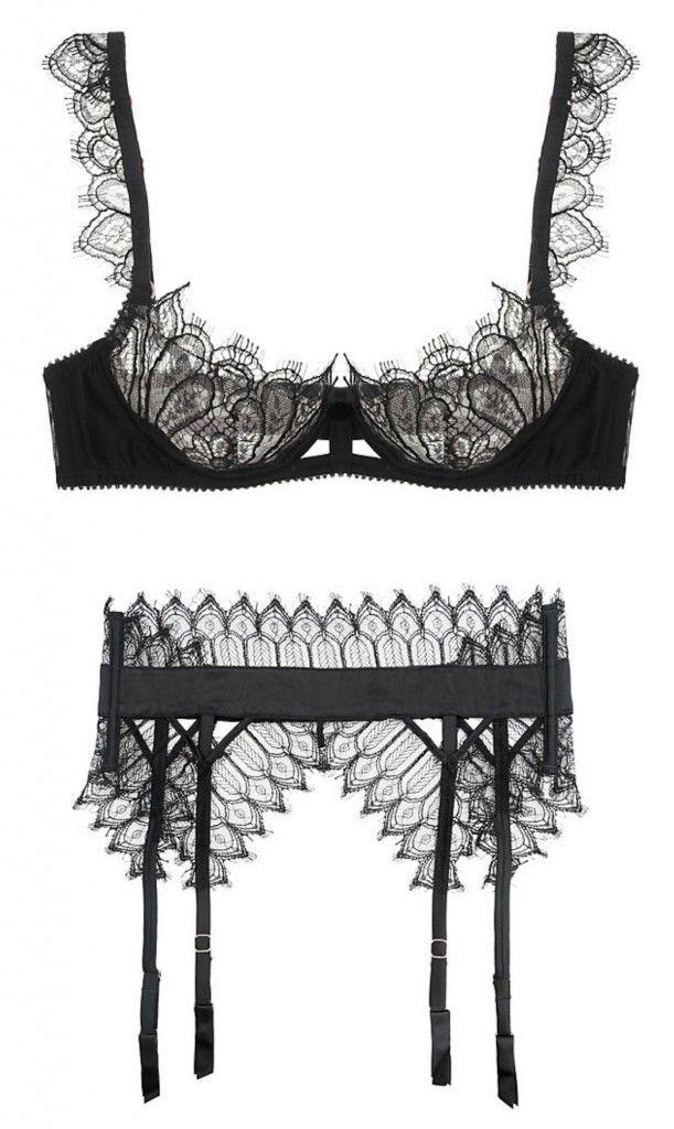 #Lingerie of the Week: Myla 'Anastasia' Bra & 'Celestria' Suspender Belt - http://www.thelingerieaddict.com/2013/11/lingerie-week-myla.html