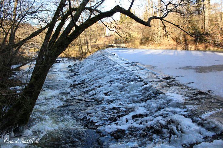 Rivière de cristal.  #champagnat #creuse #limousin #nouvelleaquitaine #riviere #river #fall #cascade #arbre #tree #water #eau #hiver #winter #glace #ice
