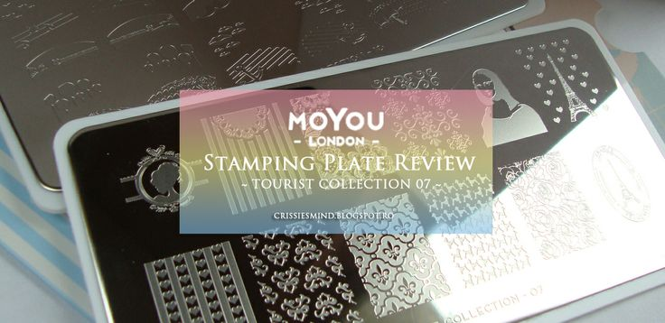 Crissie's Mind: Review: MoYou London Stamping Plates + NOTD