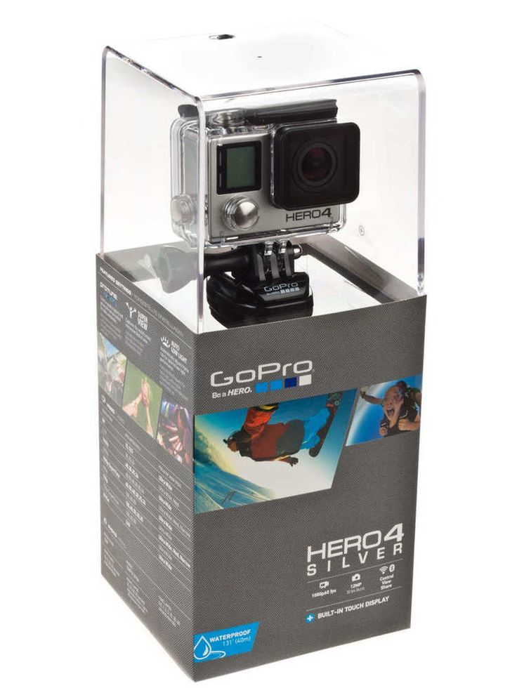 GoPro HERO4 Silver Adventure CHDHY-401