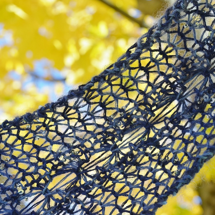 Verdigris Knits: Skyfall - Complimentary Brioche Lace Scarf Pattern