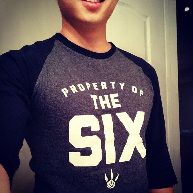 Want! Property of the Six #Raptors softball jersey. #RTZ
