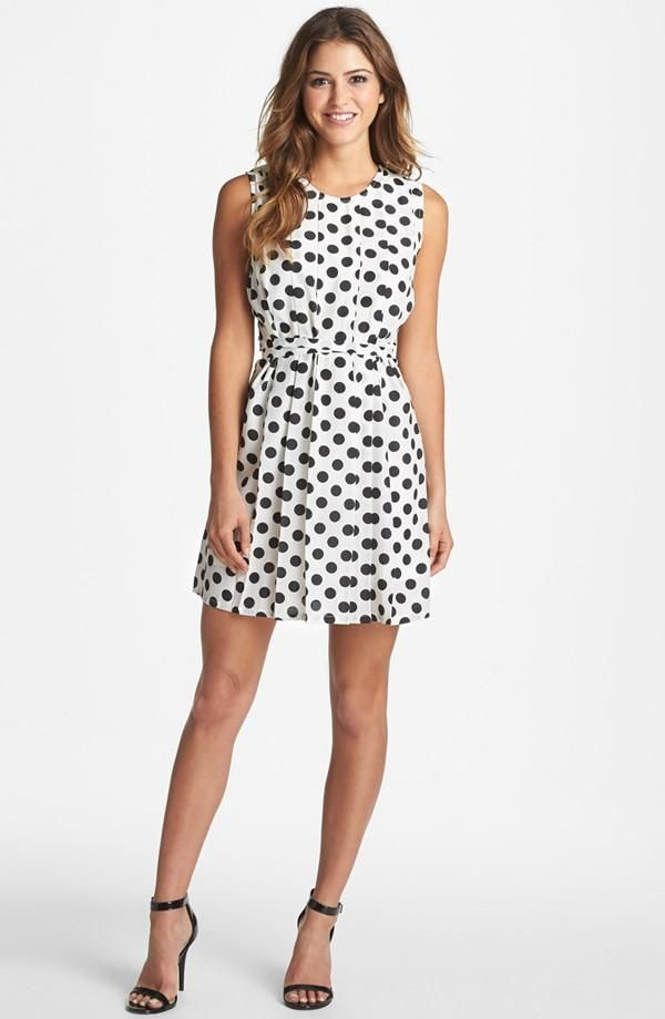 Every Girl Needs A Classic Polka Dot Dress Style Under