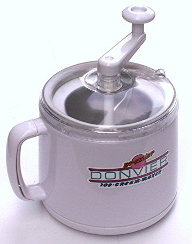 Premier Donvier Ice Cream Maker - PINT - WHITE >>> Check out this great article. #IceCreamMachines