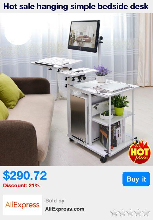 Hot sale hanging simple bedside desk lazy desktop computer desk fashional home office furniture 6 styles optional * Pub Date: 05:31 May 29 2017