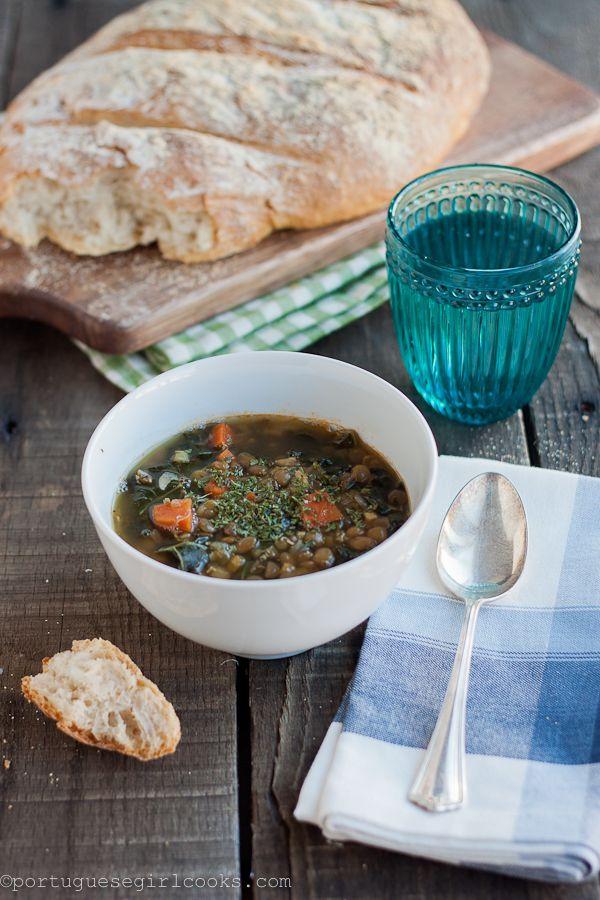 Kale and Lentil Soup