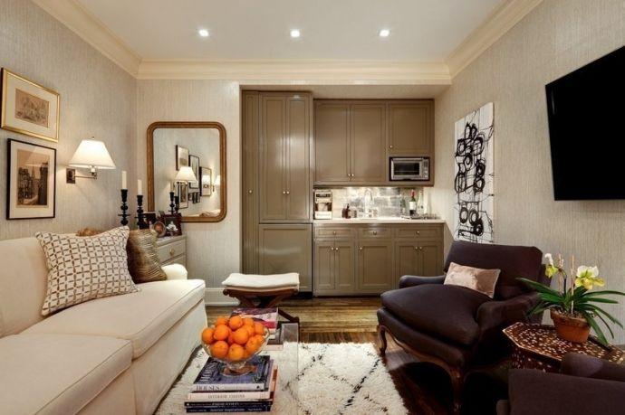 Квартира студия в Нью-Йорке площадью 25 кв.м. - Дизайн интерьеров | Идеи вашего дома | Lodgers