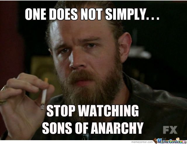 Sons Of Anarchy; true !