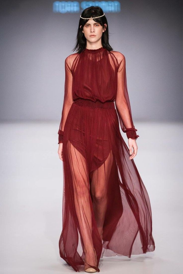 Dress Betty / Nora Sarman SS 2016 - Mercedes-Benz Fashion Week Central Europe
