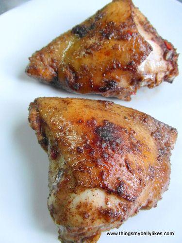 Jerk Spiced Chicken Thighs | Paleo & Primal | Pinterest