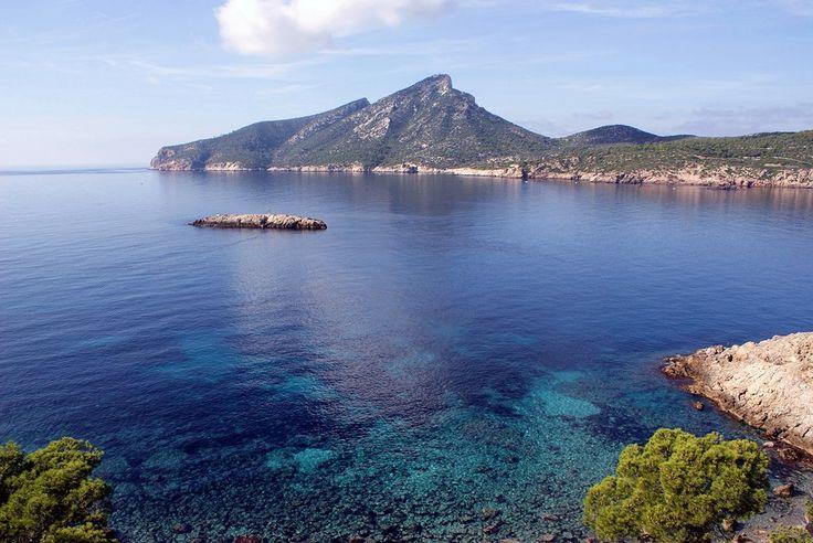 Dragonera Island. Best nature destinations in the Balearic Islands.