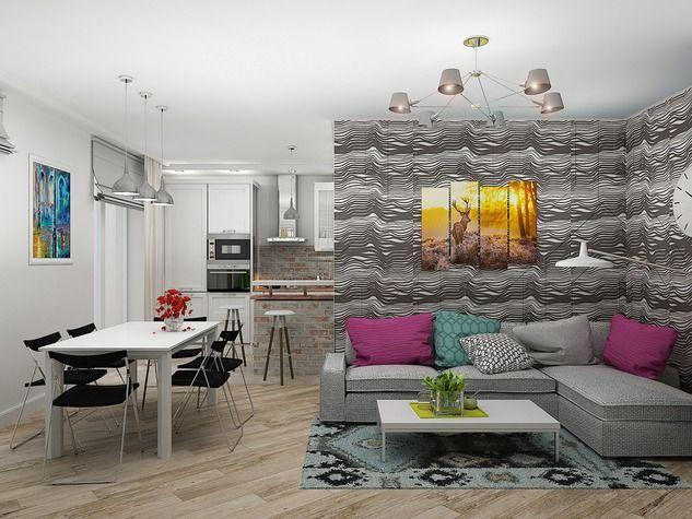 Проект: Квартира 50 — Татьяна Поварова — MyHome.ru