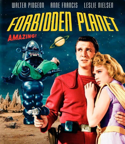 """Forbidden Planet"" (1956) - Cuba, China, North Korea and Viet Nam, Russia...the forbidden planets!!!"