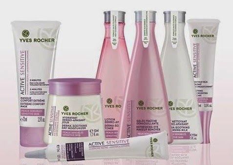 Yves Rocher Debbie de beaute : Το ευαίσθητο δέρμα  απαιτει ειδικές θεραπείες.