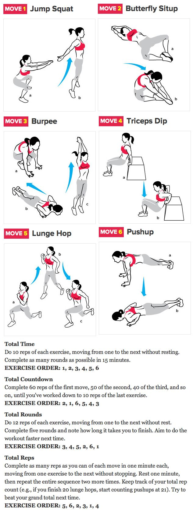 Crossfit exercises to do anywhere any time!
