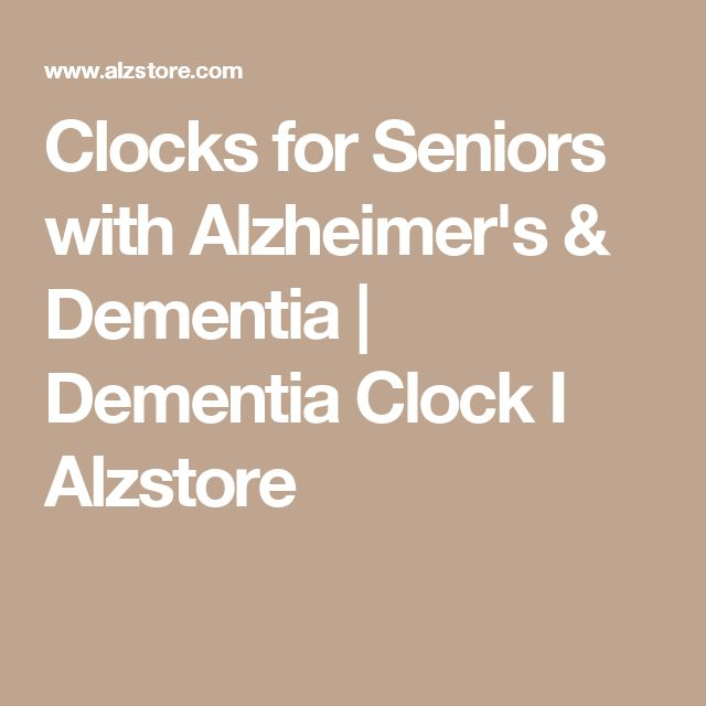 Clocks for Seniors with Alzheimer's & Dementia | Dementia Clock I Alzstore