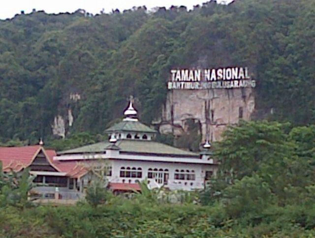 Bantimurung Bulusaraung National Park Office di Maros, Sulawesi Selatan