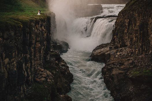 Iceland Wedding - if I could do a destination wedding, this would be it.