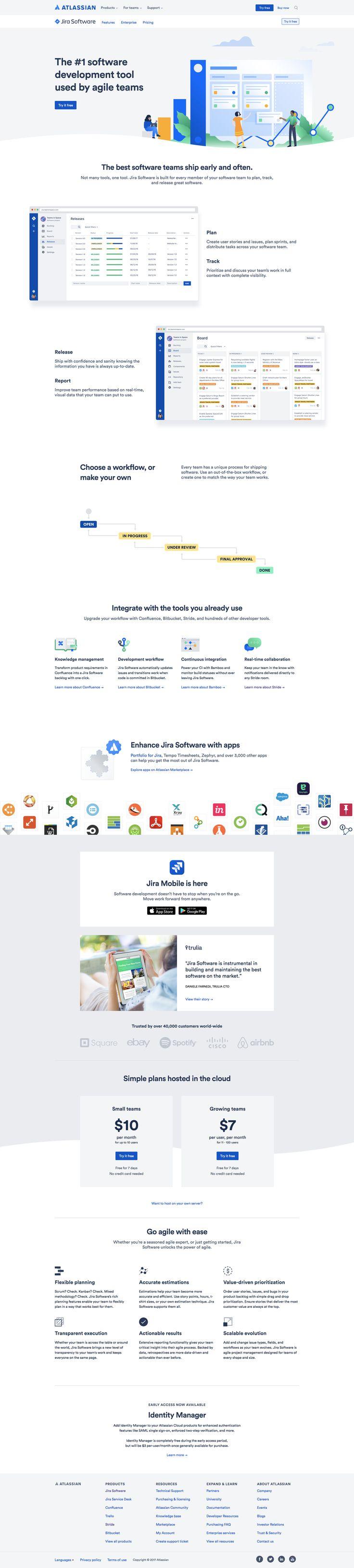Jira. Web design
