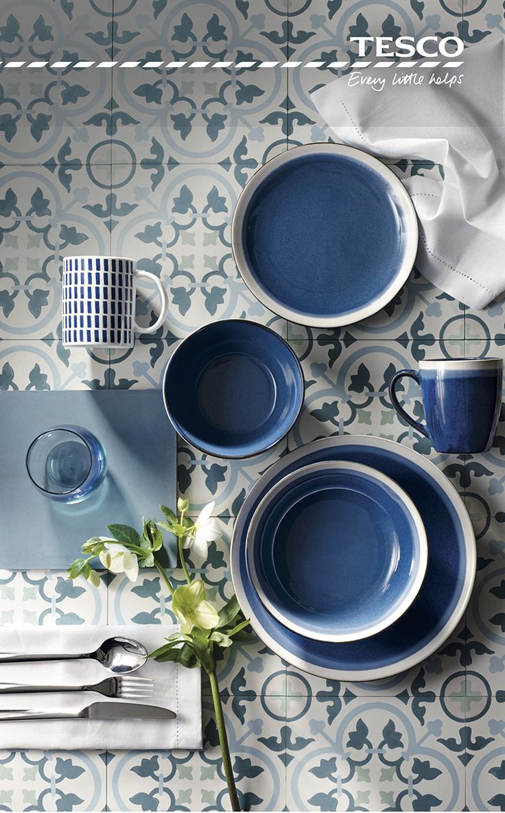 From a Santorini-inspired stripe place mat, £6, to a Blue Sahara 12-piece dinner set, £36, our range of gorgeous and affordable tableware has all you need to give your dining space a luxurious summer feel, working as beautifully for breakfast as it does for spontaneous al fresco dining.