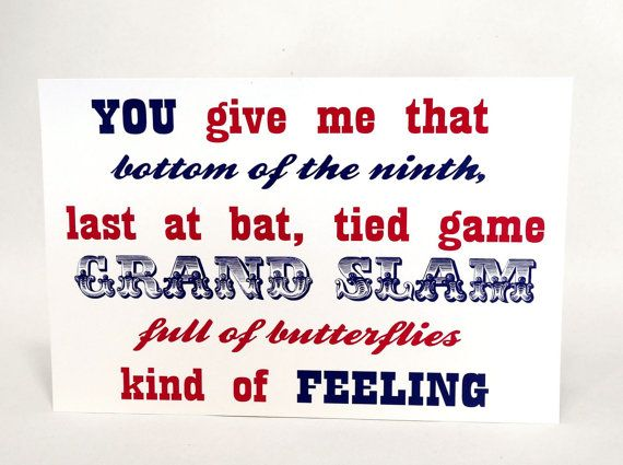 Grand Slam Baseball Theme Sign Sports Fan by WeddingMonograms