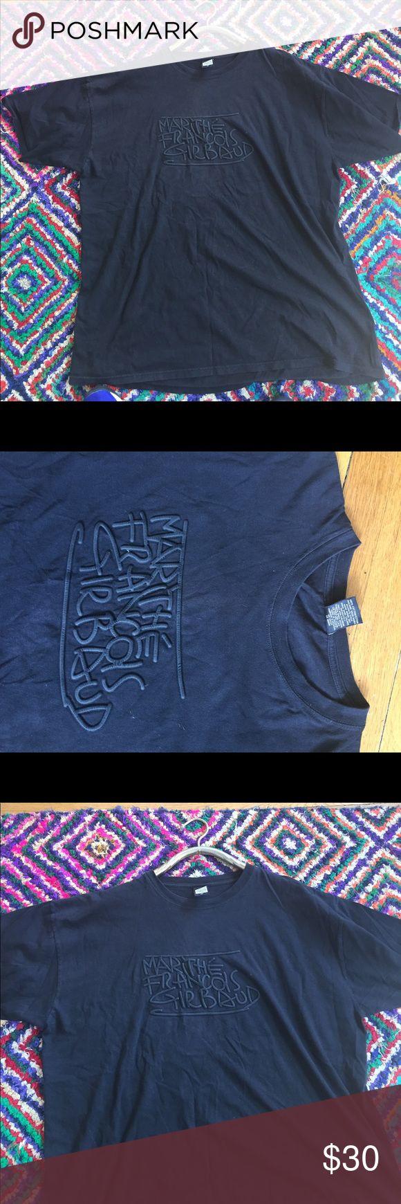 Men's marithe Francois girbaud tee shirt Black vintage men's t shirt like new condition Sz XX large marithe' Francois Girbaud Shirts Tees - Short Sleeve