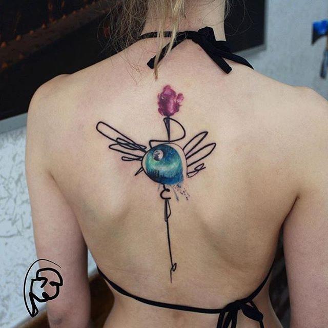 Artist: @tayfunbezgin __________ #inkstinct_tattoo_app #watercolortattoo #watercolor #instatattoo #tattooer #tattoo #tattooartist #tattoos #tattoocollection #tattooed #tattoomagazine #supportgoodtattooing #tattooer #tattooartwork #tatuaje #tattrx #inkedmag #equilattera #tattooaddicts #tattoolove #topclasstattooing #tattooaddicts #tatted #superbtattoos #inked #amazingink #bodyart #tatuaggio #tattoooftheday