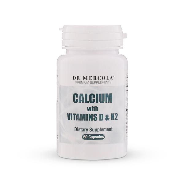 Calcium with Vitamins D and K2 supplement provides nutrients in an advanced form to help take control of your bone health. http://products.mercola.com/calcium-supplement/