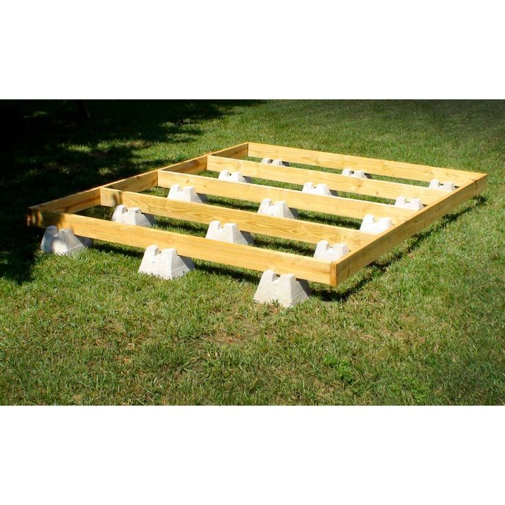 Handi Block Lightweight Concrete Deck Block Lowe S