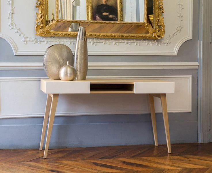 console couloir d 39 entr e disco sur decolecedre d coration int rieure pinterest design. Black Bedroom Furniture Sets. Home Design Ideas