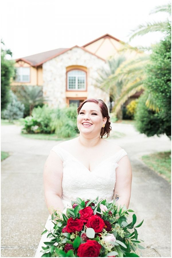 Red and Greenery Bouquet | SO Photography