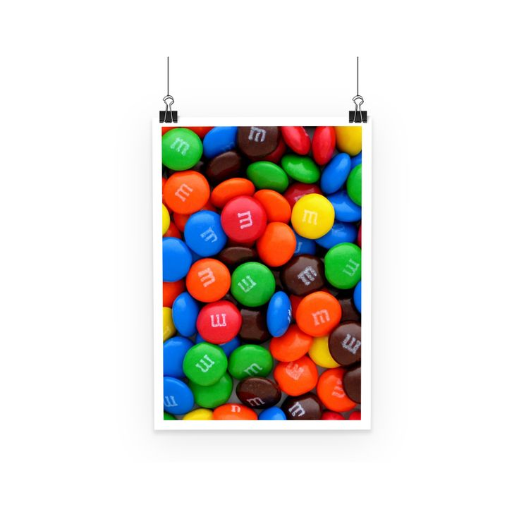 Marble Chocolate Poster