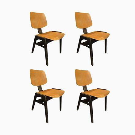 Italienische Holzstühle, 1960, 4er Set Jetzt Bestellen Unter:  Https://moebel.ladendirekt.de/kueche Und Esszimmer/stuehle Und Hocker/esszimmerstuehle/?uidu003d  ...