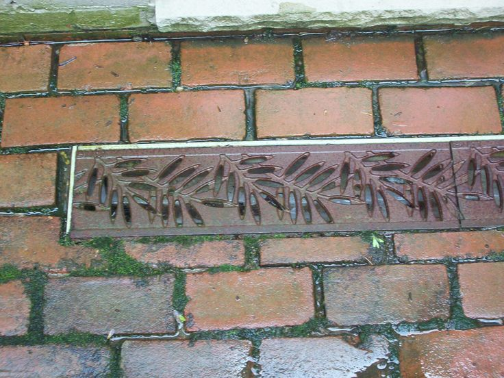 Decorative Yard Drainage : Images about decorative drainage grates on pinterest