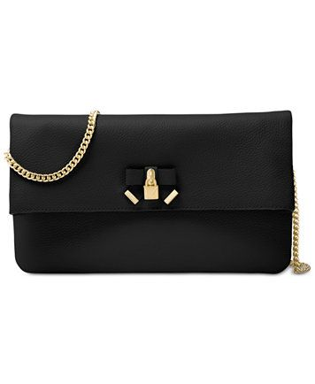0c9d3cf1adee Image 1 of MICHAEL Michael Kors Everly Medium Fold-Over Clutch ...