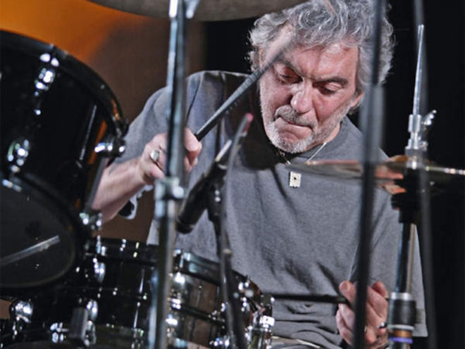 Steve Gadd - learnt the 32nd note paradiddles from him. Taught me a lot of humility in music. You dont have to be the fastest or loudest to sound great.. gotta have 'feeeeeeeel'