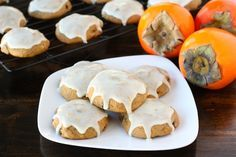 yummy persimmon cookies, like gma used to make! (for when people think you REALLY like persimmons and give you a bunch :)