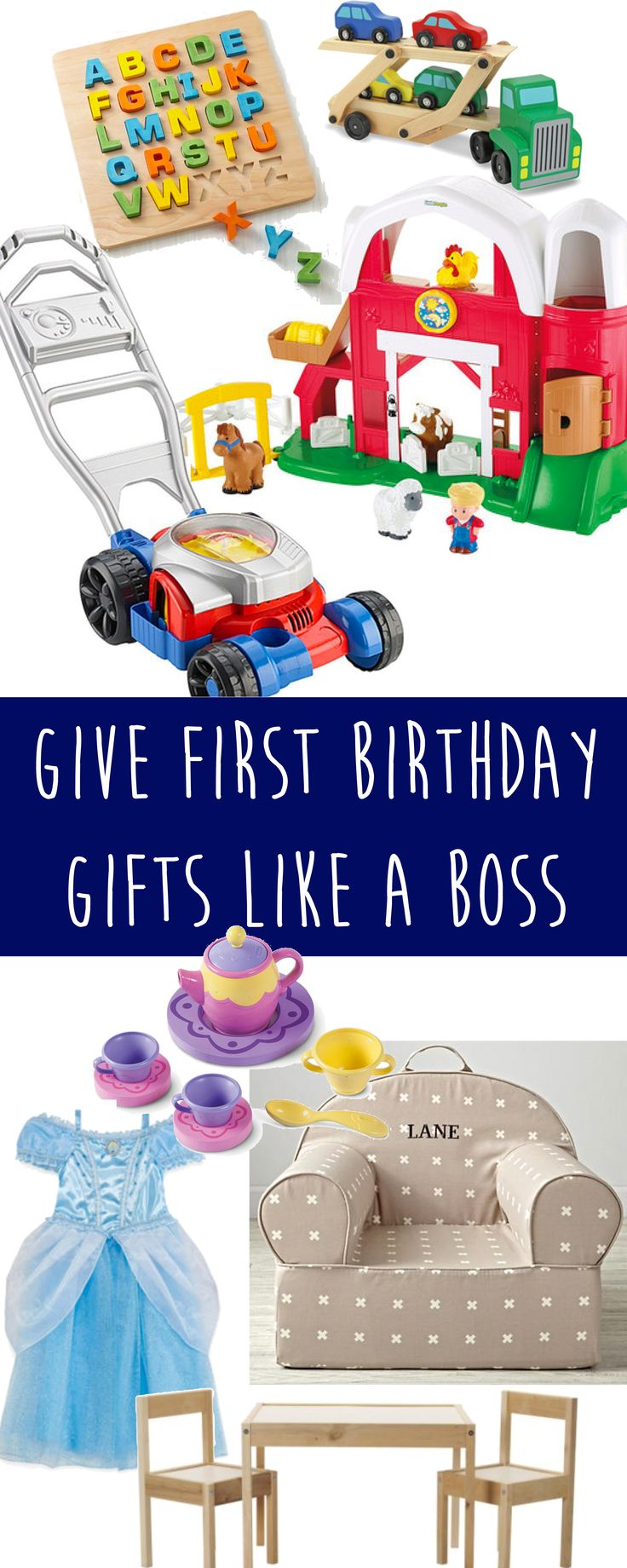 Kid and Mom tested First Birthday gifts that will be their new favorite!