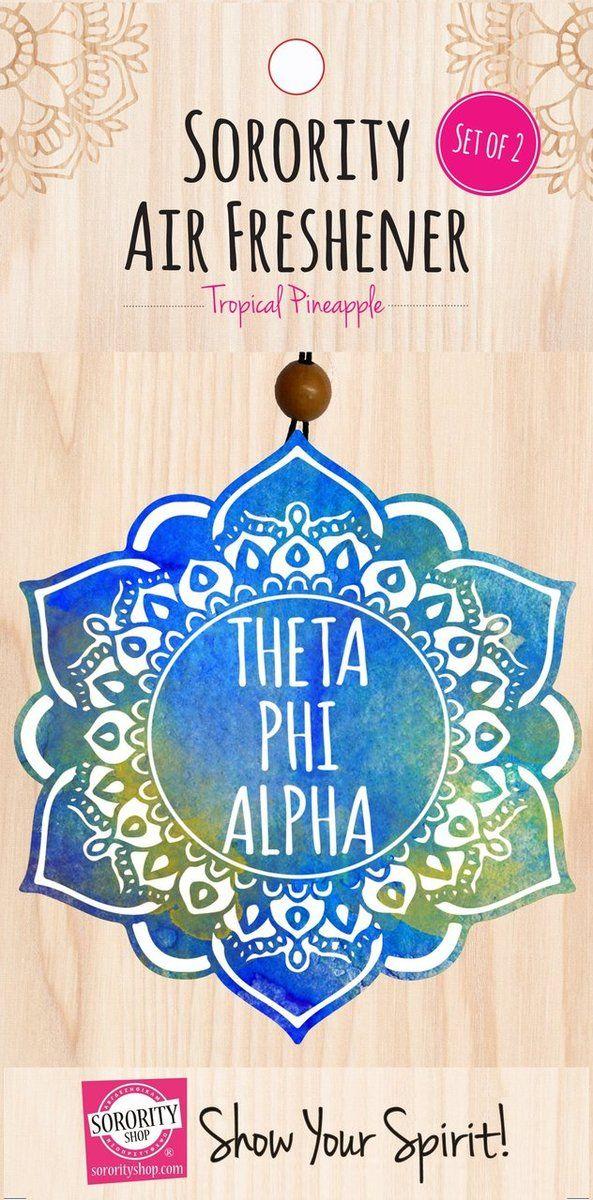 Theta Phi Alpha Mandala Air Freshener - Brothers and Sisters' Greek Store