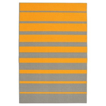 PINK Garland Stair Steps Rug (5'X7'5