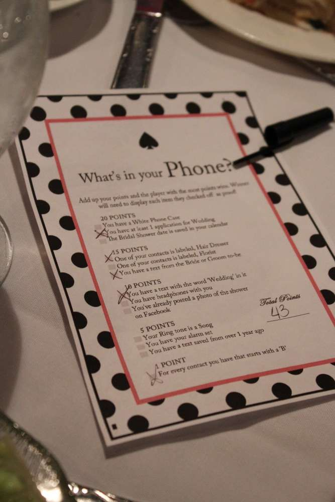 Kate Spade BridalWedding Shower Party Ideas 92