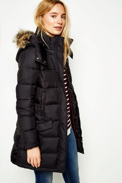 Bassingbourne Longline Padded Coat Fashion Black