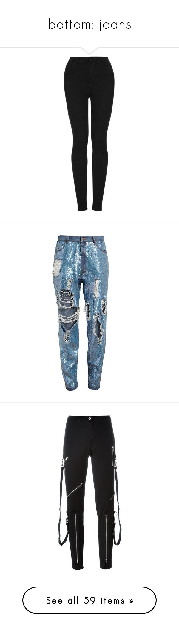 """""""bottom: jeans"""" by blackangels-official ❤ liked on Polyvore featuring jeans, pants, bottoms, jeans/pants, black, high rise skinny jeans, topshop skinny jeans, high waisted stretch jeans, highwaist jeans and tall jeans"""