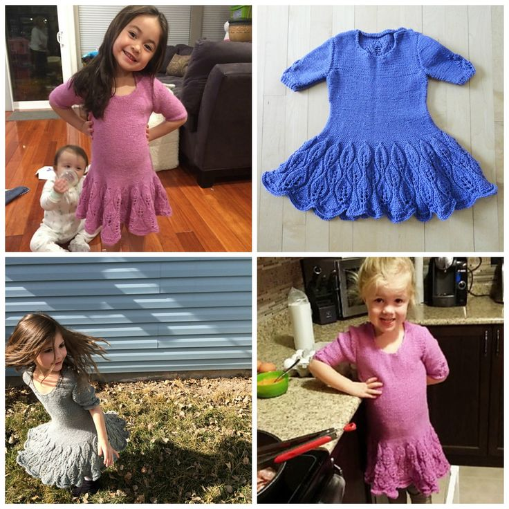 Maddie Children's Dress collage
