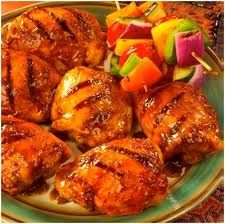 Grilled Hawaiian Chicken Recipe - Taste the tropics with this fruity chicken dish tonight. It's much cheaper than taking the whole family to the beach this summer.