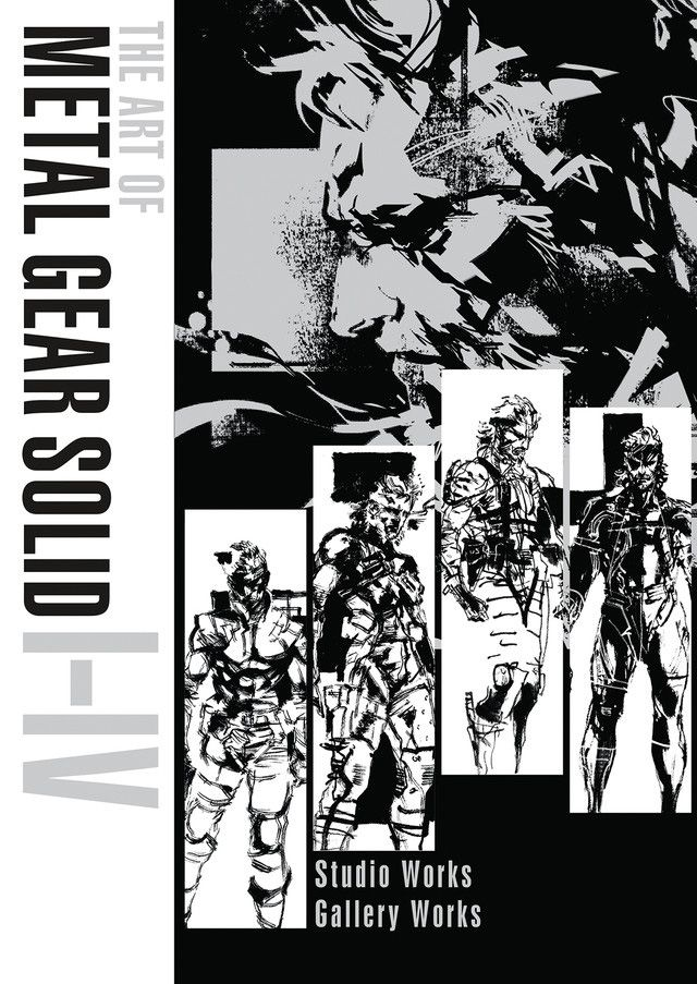 English Edition of The Art of Metal Gear Solid I  IV releasing next year available for pre-order now #MetalGearSolid #mgs #MGSV #MetalGear #Konami #cosplay #PS4 #game #MGSVTPP