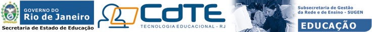 A Coordenação de Tecnologia Educacional - CdTE é vinculada à Diretoria de Formação da Superintendência de Formação e Articulação, órgão ligado à Subsecretaria de Gestão da Rede e de Ensino - SUGEM, da Secretaria de Estado de Educação do Rio de Janeiro.